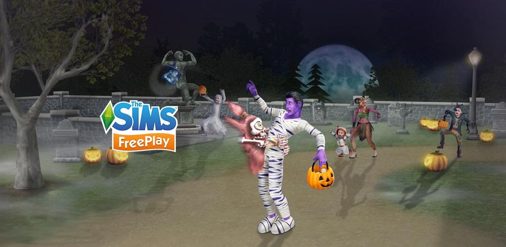 Sims Freeplay Update 5 33 Halloween Firemonkeys