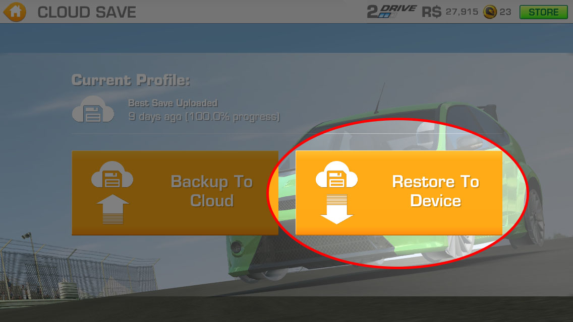 RR3 Cloud Save - Transferring Save Data Between Devices
